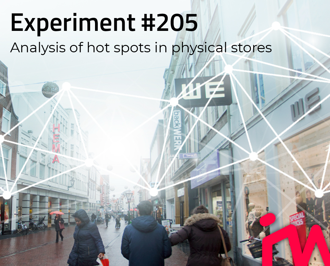 Experiment 203 analysis of hot spots in physical stores