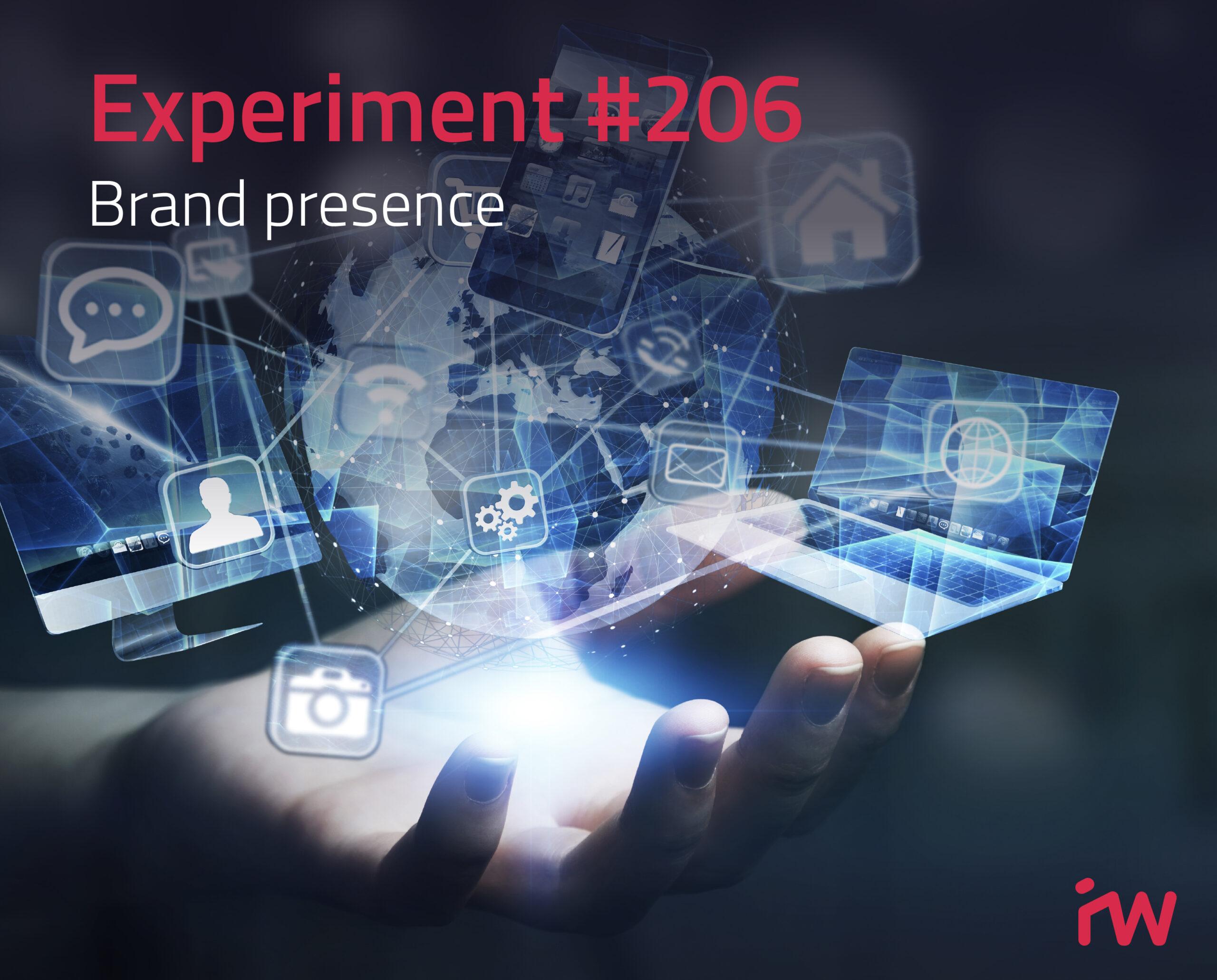 experiment #206: Brand Precense 3